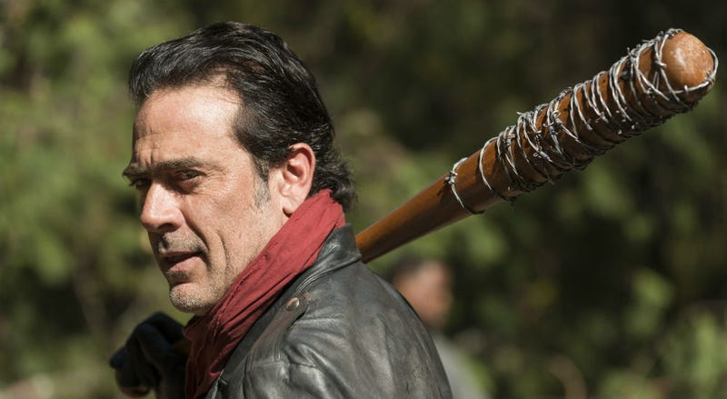 Did Negan finally get what's coming to him? Discuss the Walking Dead finale here. Image Gene Page/AMC