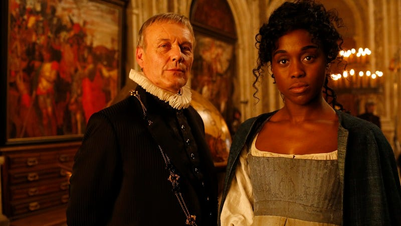 Anthony Head, Lashana Lynch (Photo: ABC)