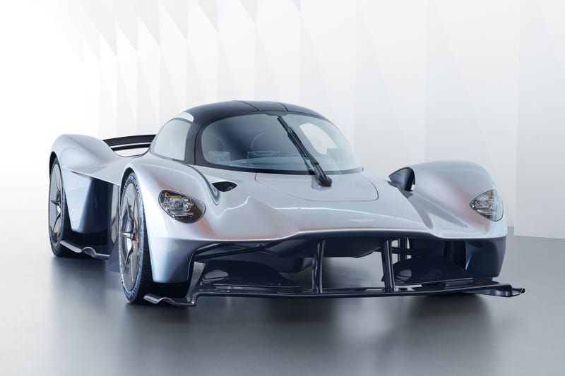 Illustration for article titled Aston's Valkyrie. It's a real thing now...