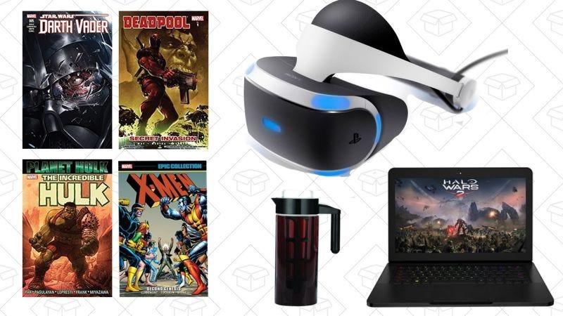 Illustration for article titled Las mejores ofertas de hoy: Cómics de Marvel, PlayStation VR, Gold Box para jugadores y más
