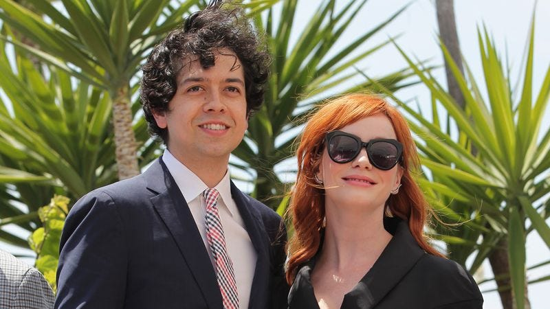 Geoffrey Arend and Christina Hendricks (Photo: Gisela Schober/Getty Images)