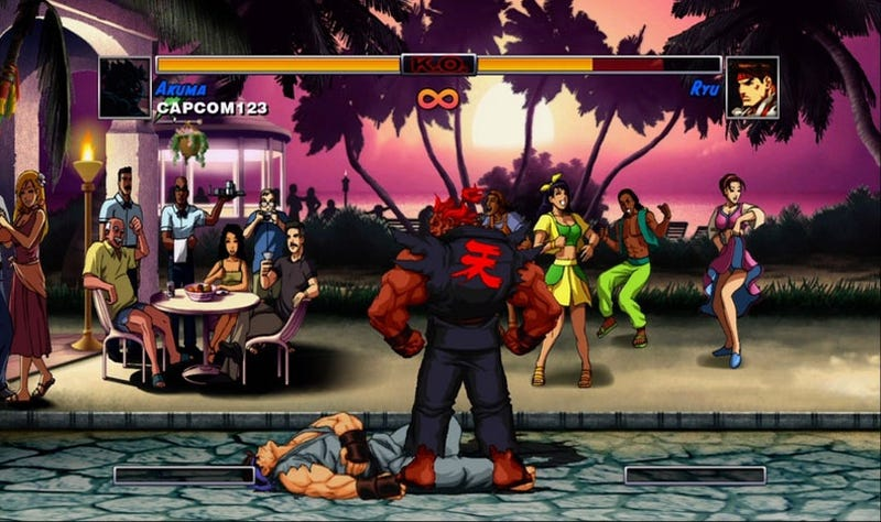 Illustration for article titled Street Fighter II HD FINALLY Gets A European PS3 Release