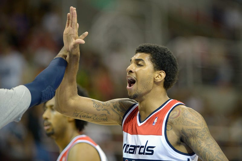 Illustration for article titled Police: Glen Rice Jr. Shot In Leg, Arrested For Carrying Half A Pound Of Weed
