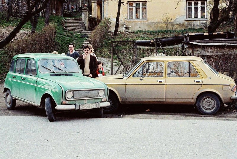 2 fellas having a nice afternoon crash (Zagreb, in the 70's).