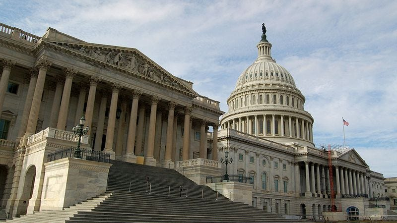 Protesters called on Congress to redirect excess spending toward the development of robotic bees equipped with live-streaming night vision.