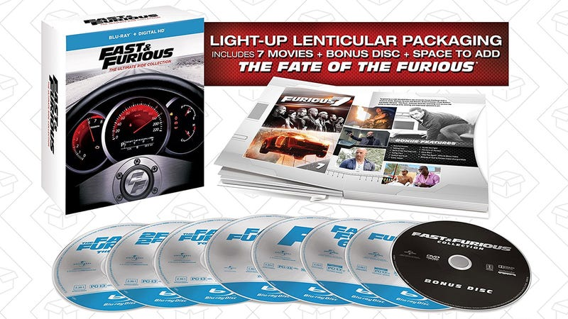 Preorder Fast & Furious: The Ultimate Ride Collection, $60