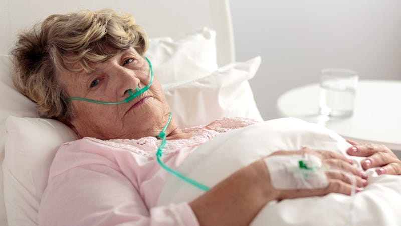 Illustration for article titled Grandmother Really Starting To Get The Hang Of Dying