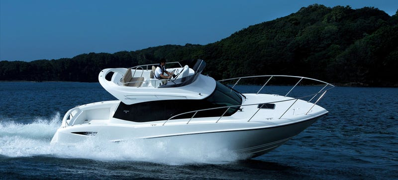 Illustration for article titled Toyota Built A $275,000 Boat And We Kind Of Love It