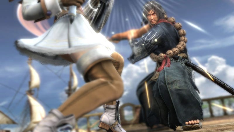Illustration for article titled Your Next Soulcalibur V Opponent Could Be Your Own Creation