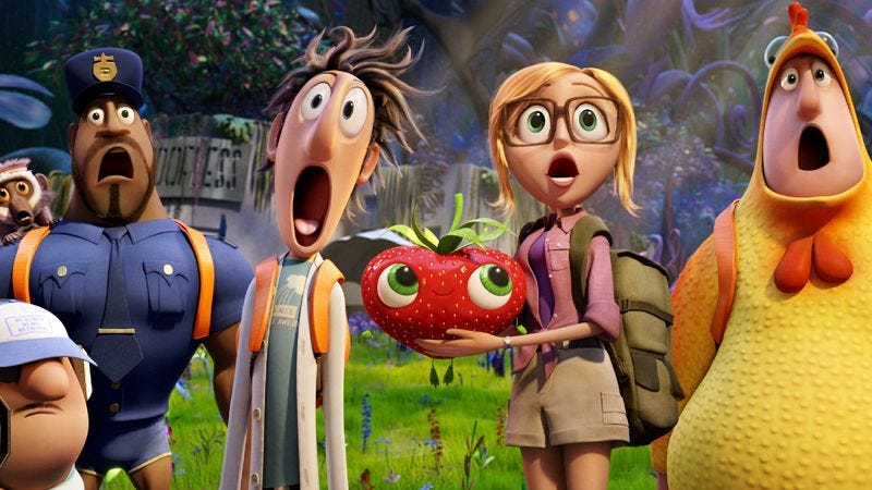 Illustration for article titled Cloudy With A Chance Of Meatballs 2