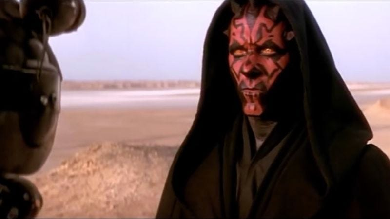 Illustration for article titled Darth Maul might be getting his own video game after all