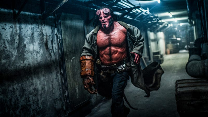 Illustration for article titled Neil Marshall's Hellboy is a loud, gory mess only a teenager could love