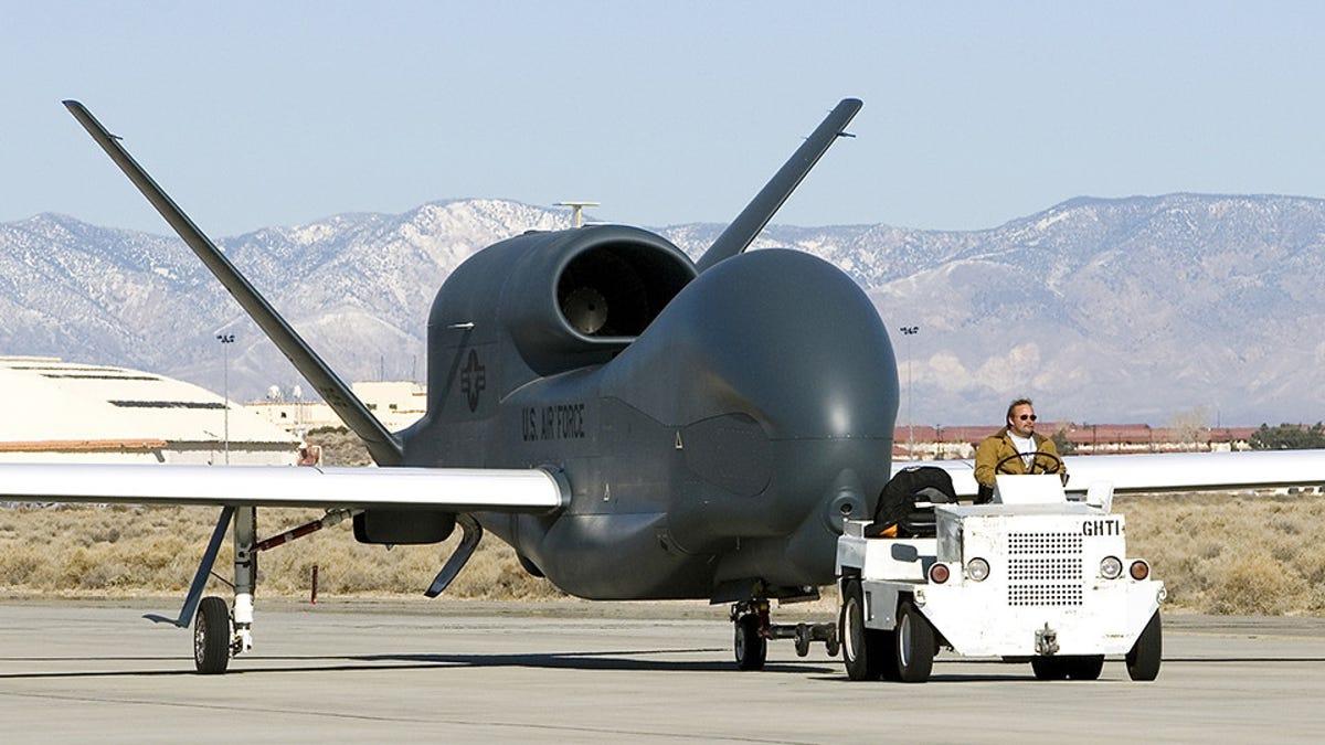 ÎÏÎ¿ÏέλεÏμα εικÏÎ½Î±Ï Î³Î¹Î± RQ-4 Global Hawk