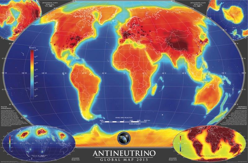 Illustration for article titled ¿Cuántos antineutrinos te están atravesando en este momento?