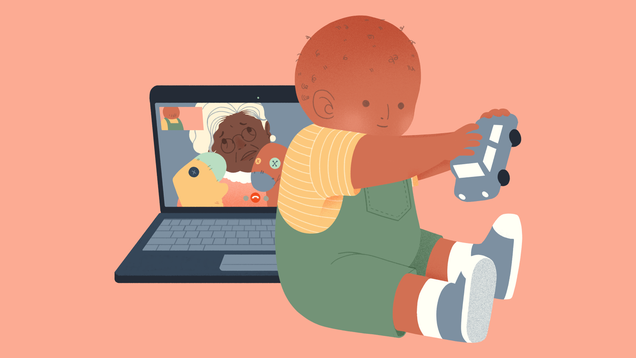 How to Have Successful Video Chats with Little Kids