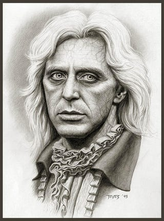 Illustration for article titled Concept art shows Al Pacino as Interview with the Vampire's Lestat