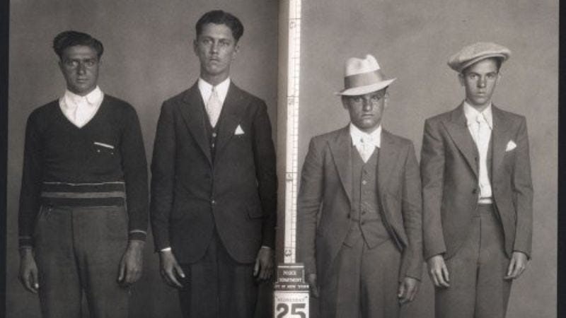 Image: Least Wanted: A Century Of American Mugshots