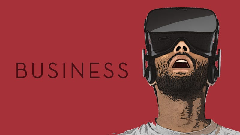 Illustration for article titled This Week In The Business: Virtual Reality Year One