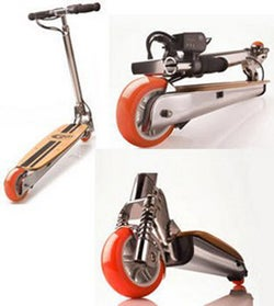 Illustration for article titled Motorboard 2000XR Electric Mini Scooter Will Let You Scoot Your Heart Out
