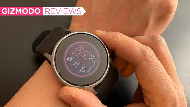 The First Smartwatch to Read Your Blood Pressure Is an Ugly Marvel
