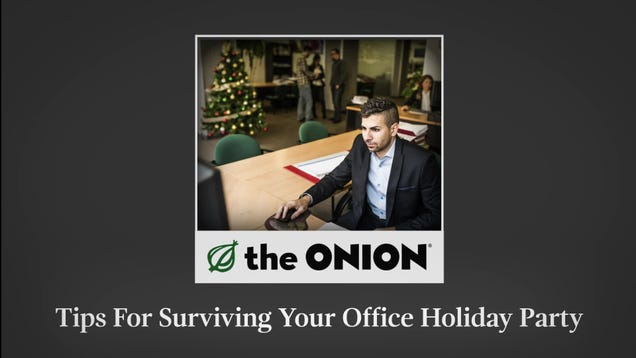 Tips For Surviving Your Office Holiday Party