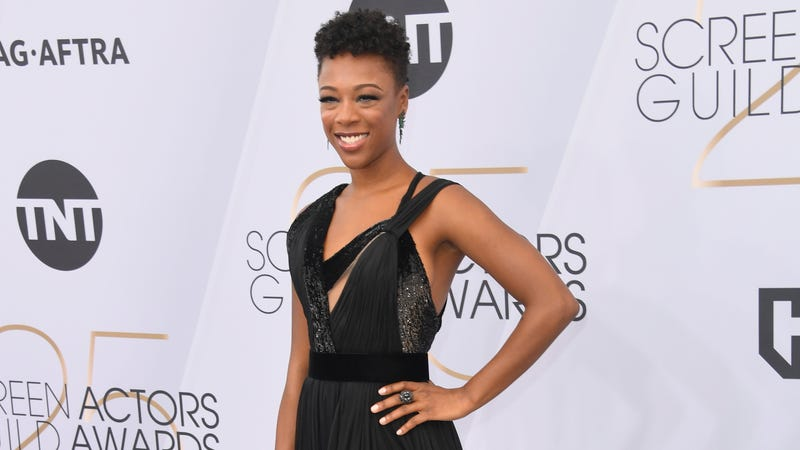 Samira Wiley attends the 25th Annual Screen Actors Guild Awards  on Jan. 27, 2019, in Los Angeles.