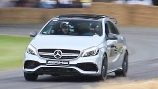 The 2016 Mercedes A45 AMG Sounds Like An Angry Dragon Sneezing Bees