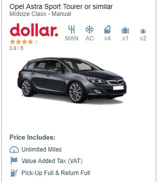 Illustration for article titled Rental Cars in Europe are just more fun.