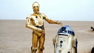 Illustration for article titled The curious case of the vulgar C-3PO trading card