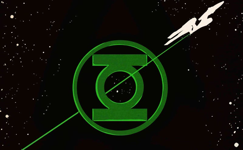 Illustration for article titled There's Going to Be a Star Trek/Green Lantern Comics Crossover This July
