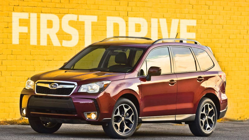 Illustration for article titled 2014 Subaru Forester: Around The Block