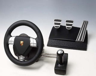 Illustration for article titled Gaming With Porsche Branded Peripherals Almost Like Driving Real Thing