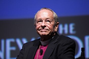 Illustration for article titled Gay Bishop Who Received Death Threats Will Step Down