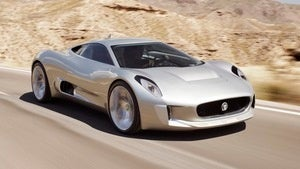 Illustration for article titled Jaguar C-X75: A $1.1 million hybrid production pussycat