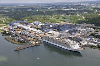 Illustration for article titled STX Sells Turku Yard to Meyer Werft