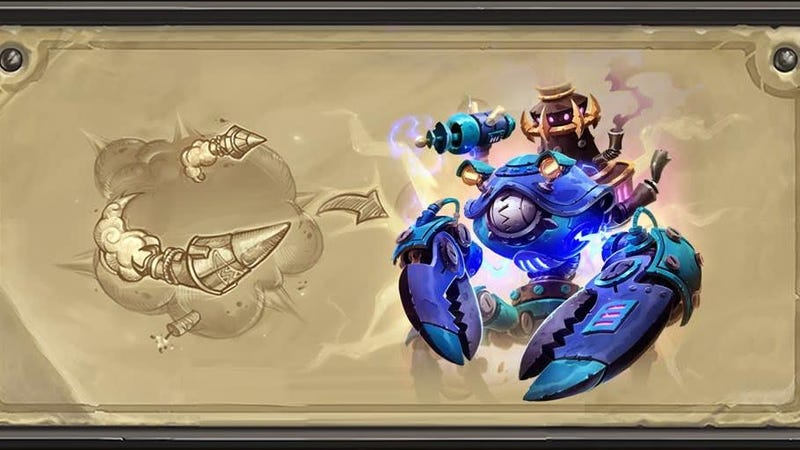 Illustration for article titled Brand-New Hearthstone Legendary Card Is Already One Of The Most Popular In The Game