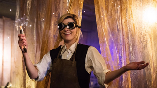 Jodie Whittaker. You'll notice she's not dancing.