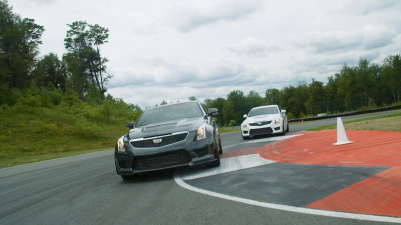 Illustration for article titled The Cadillac ATS-V Will Totally Track Day, Bro