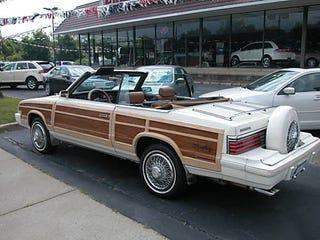 Illustration for article titled 1984 Chrysler LeBaron: Does The Continental Kit Make It Better?