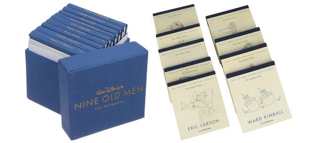 A Collection Of Nine Flipbooks Celebrating Disney's Greatest Animators