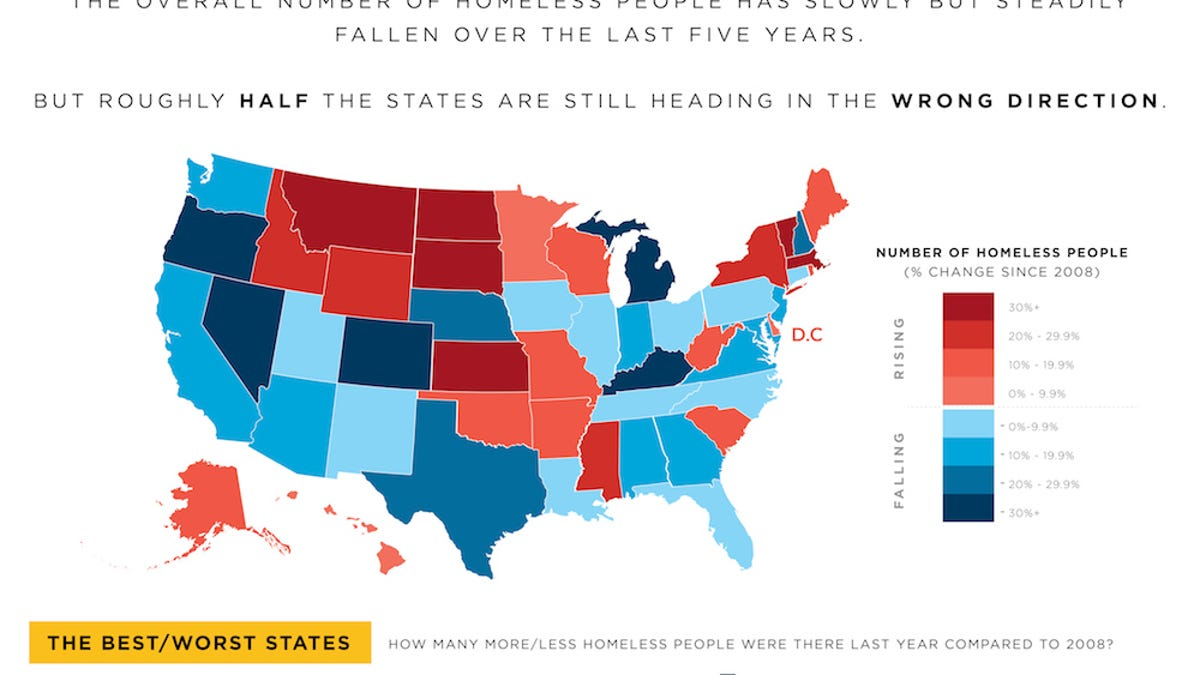 Where Homelessness Is Getting Worse (It\'s Not the Places You\'d Think)