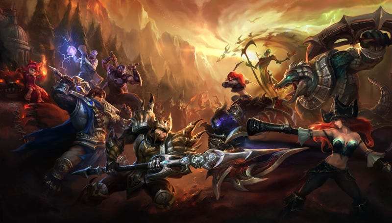 Illustration for article titled What's Your Favorite MOBA?