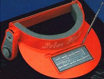 Solar Radio Visor  For Dorktastic Martians Only 974275674b5