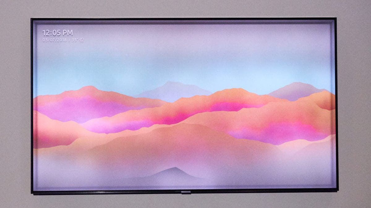 Samsung's Best TVs Now Come With an Invisibility Cloak    Sort Of