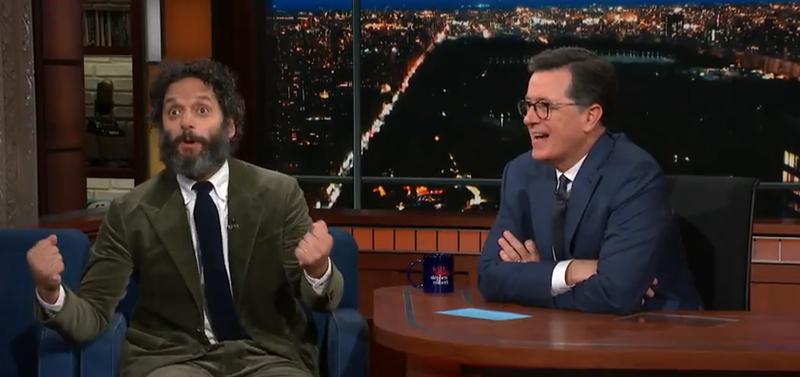 Jason Mantzoukas, Stephen Colbert