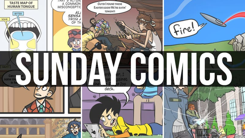 Illustration for article titled Sunday Comics: Exit Through The Gift Shop