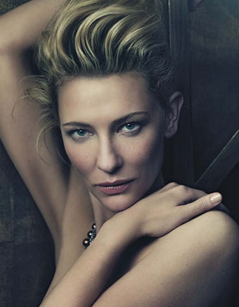 Illustration for article titled Cate Blanchett Has No Complaints About Film Roles For Women