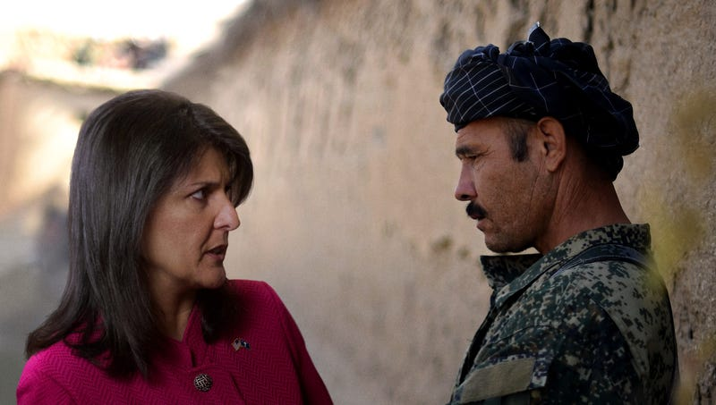 Illustration for article titled Nikki Haley Resigns To Accept Consulting Role With Afghan Warlord