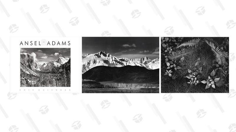 Ansel Adams 2019 Wall Calendar | $5 | Amazon