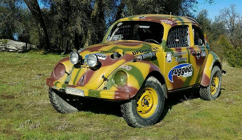 we re finally going to try off road racing an old vw beetle in the